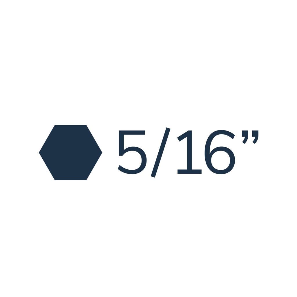 "5/16"""