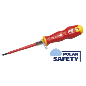 Tethered insulated screwdrivers