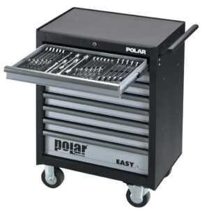 EASY Roller cabinet with 163 tools
