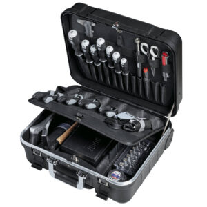 LIGHT Tool trolley with tool assortment – 136 tools