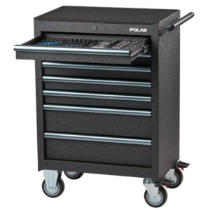 EASY LIGHT Roller cabinet with 163 tools