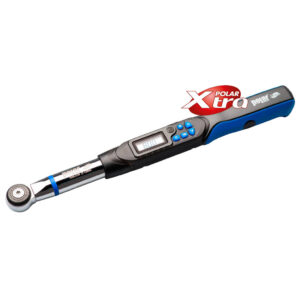 Digital torque wrenches with interchangeable heads